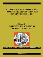 European Symposium on Computer Aided Process Engineering--13