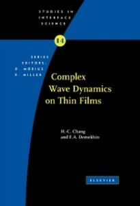 Foto Cover di Complex Wave Dynamics on Thin Films, Ebook inglese di Hen-hong Chang,E.A. Demekhin, edito da Elsevier Science