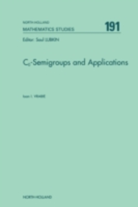 Ebook in inglese Co-Semigroups and Applications Vrabie, Ioan I.