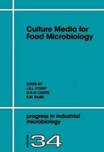 Ebook in inglese Culture Media for Food Microbiology