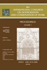 Ebook in inglese Proceedings of the 9th International Congress on Deterioration and Conservation of Stone -, -