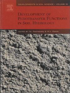 Foto Cover di Development of Pedotransfer Functions in Soil Hydrology, Ebook inglese di W.J. Rawls,Y. Pachepsky, edito da Elsevier Science