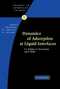 Ebook in inglese Dynamics of Adsorption at Liquid Interfaces Dukhin, S.S. , Kretzschmar, G. , Miller, R.