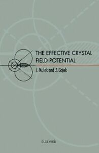 Foto Cover di Effective Crystal Field Potential, Ebook inglese di  edito da Elsevier Science