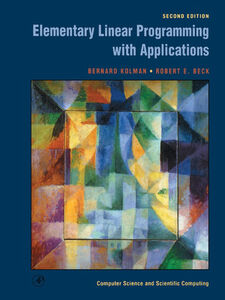 Ebook in inglese Elementary Linear Programming with Applications Beck, Robert E. , Kolman, Bernard