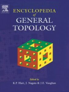 Ebook in inglese Encyclopedia of General Topology Hart, K.P. , Nagata, Jun-iti , Vaughan, J.E.