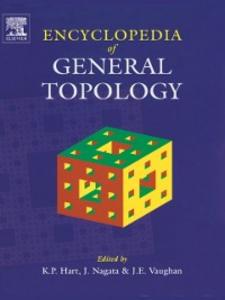 Ebook in inglese Encyclopedia of General Topology Hart, K.P. , Nagata, Jun-iti , Vaughan, J.E.