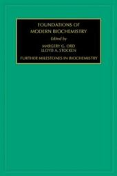 Further Milestones in Biochemistry