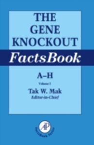 Ebook in inglese Gene Knockout Factsbook, Two-Volume Set -, -