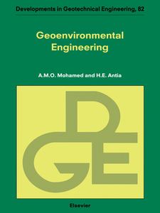 Ebook in inglese Geoenvironmental Engineering Antia, H.E. , Mohamed, A.M.O.