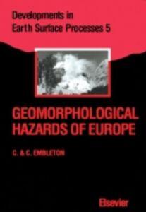 Ebook in inglese Geomorphological Hazards of Europe