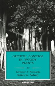 Ebook in inglese Growth Control in Woody Plants Kozlowski, Theodore T. , Pallardy, Stephen G.