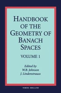 Foto Cover di Handbook of the Geometry of Banach Spaces, Ebook inglese di Author Unknown, edito da Elsevier Science