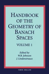 Ebook in inglese Handbook of the Geometry of Banach Spaces -, -