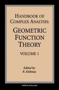 Ebook in inglese Handbook of Complex Analysis -, -