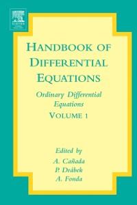 Ebook in inglese Handbook of Differential Equations: Ordinary Differential Equations Canada, A. , Drabek, P. , Fonda, A.