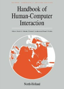 Ebook in inglese Handbook of Human-Computer Interaction -, -