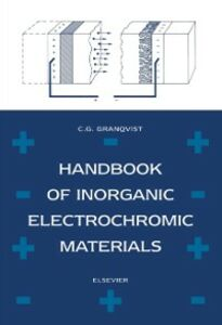 Ebook in inglese Handbook of Inorganic Electrochromic Materials -, -