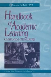 Ebook in inglese Handbook of Academic Learning Phye, Gary D.
