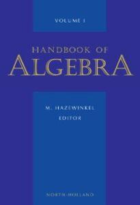 Foto Cover di Handbook of Algebra, Ebook inglese di Author Unknown, edito da Elsevier Science