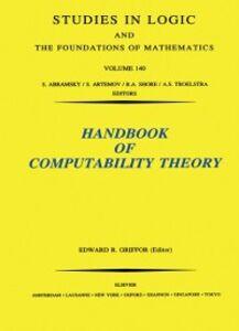 Foto Cover di Handbook of Computability Theory, Ebook inglese di  edito da Elsevier Science