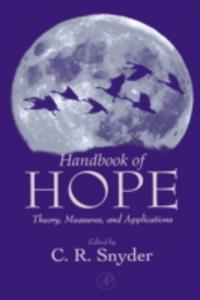 Ebook in inglese Handbook of Hope -, -