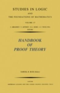 Ebook in inglese Handbook of Proof Theory -, -