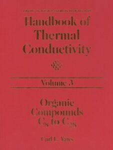Ebook in inglese Handbook of Thermal Conductivity, Volume 3: Yaws, Carl L.