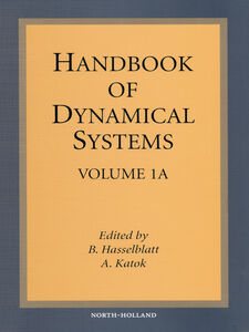 Foto Cover di Handbook of Dynamical Systems, Ebook inglese di A. Katok,B. Hasselblatt, edito da Elsevier Science
