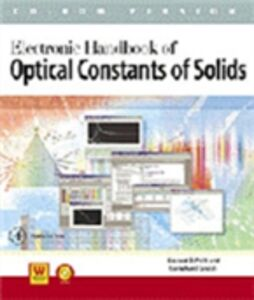 Foto Cover di Handbook of Optical Constants of Solids, Ebook inglese di Gorachand Ghosh, edito da Elsevier Science
