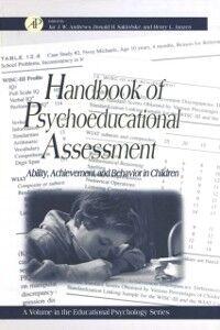 Ebook in inglese Handbook of Psychoeducational Assessment