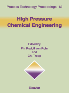 Ebook in inglese High Pressure Chemical Engineering -, -