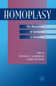 Foto Cover di Homoplasy, Ebook inglese di  edito da Elsevier Science