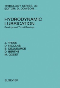 Ebook in inglese Hydrodynamic Lubrication Berthe, D. , Degueurce, B. , Frene, J. , Godet, M.