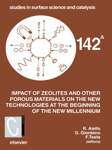Ebook in inglese Impact of Zeolites and other Porous Materials on the New Technologies at the Beginning of the New Millennium