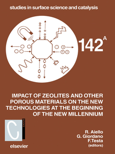 Ebook in inglese Impact of Zeolites and other Porous Materials on the New Technologies at the Beginning of the New Millennium -, -