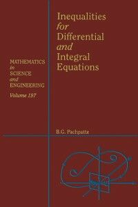 Ebook in inglese Inequalities for Differential and Integral Equations -, -