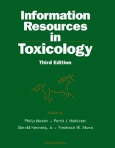 Ebook in inglese Information Resources in Toxicology