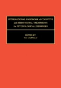 Ebook in inglese International Handbook of Cognitive and Behavioural Treatments for Psychological Disorders