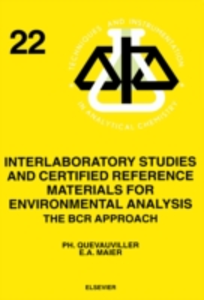 Ebook in inglese Interlaboratory Studies and Certified Reference Materials for Environmental Analysis Maier, E.A. , Quevauviller, Ph.
