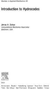 Ebook in inglese Introduction to Hydrocodes Zukas, Jonas