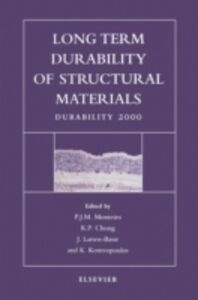 Ebook in inglese Long Term Durability of Structural Materials
