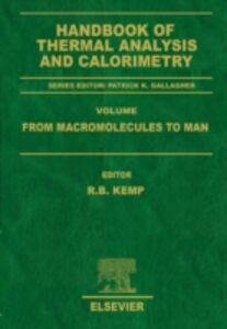 Ebook in inglese Handbook of Thermal Analysis and Calorimetry -, -
