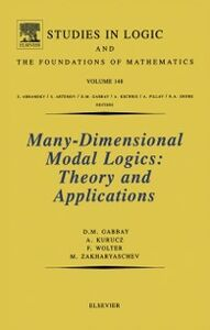 Foto Cover di Many-Dimensional Modal Logics: Theory and Applications, Ebook inglese di AA.VV edito da Elsevier Science