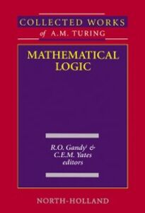 Ebook in inglese Mathematical Logic Gandy, R.O. , Yates, C.E.M.