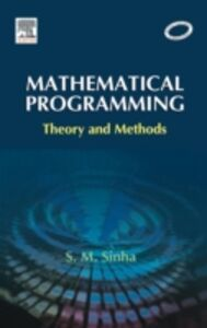 Foto Cover di Mathematical Programming, Ebook inglese di S. M. Sinha, edito da Elsevier Science