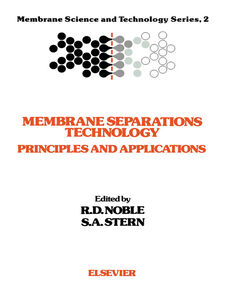 Ebook in inglese Membrane Separations Technology -, -