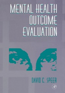Ebook in inglese Mental Health Outcome Evaluation Speer, David C.