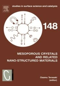 Foto Cover di Mesoporous Crystals and Related Nano-Structured Materials, Ebook inglese di  edito da Elsevier Science