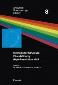 Ebook in inglese Methods for Structure Elucidation by High-Resolution NMR